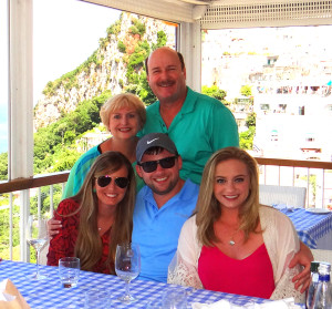Picture of my family last summer in Italy.